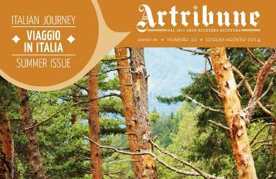 1 luglio 2014, Artribune - copertina progetto Borca