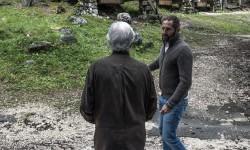 Marc Augé in progettoborca, exploring the camping - photo: Giacomo De Donà