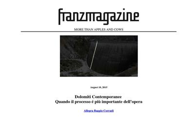 10 agosto 2015, Franzmagazine