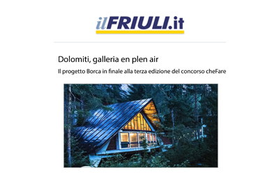 September 14, Il Friuli - Dolomiti, galleria en plen air