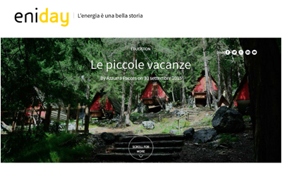 September 30, ENIDAY - Le piccole vacanze
