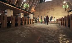 Borca, la Chiesa di Scarpa e Gellner interni