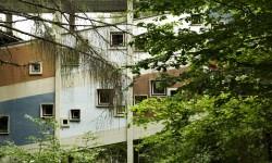 I collegamenti visti dall'esterno, alla Colonia.