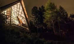 Aula Magna di notte