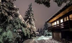 Residenza in inverno.