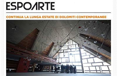 08 ottobre, Espoarte Digital 85 - Continua la lunga estate di Dolomiti Contemporanee
