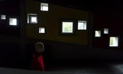 Aperture gellneriane nei corridoi della Colonia.