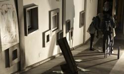 Lavori degli artisti di progettoborca realizzati nella Colonia.