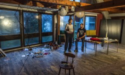 """""""e ultimo venne il bosco"""" - studio visit con Marc Augé - Foto: Giacomo De Donà"""