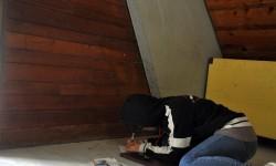 colonia, capanna media, plateau project, primo giorno