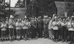Al campeggio - foto Archivio Eni