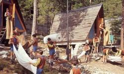 Il campeggio a tende fisse