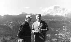Enrico Mattei ed Edoardo Gellner