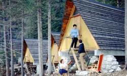 Il campeggio a tende fisse - foto Archivio Eni