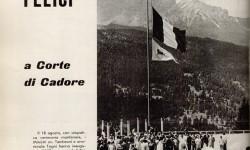 Il Gatto Selvatico, Copertina, Anno IV, n.8, p. 24, agosto 1958 - courtesy Studio Gellner