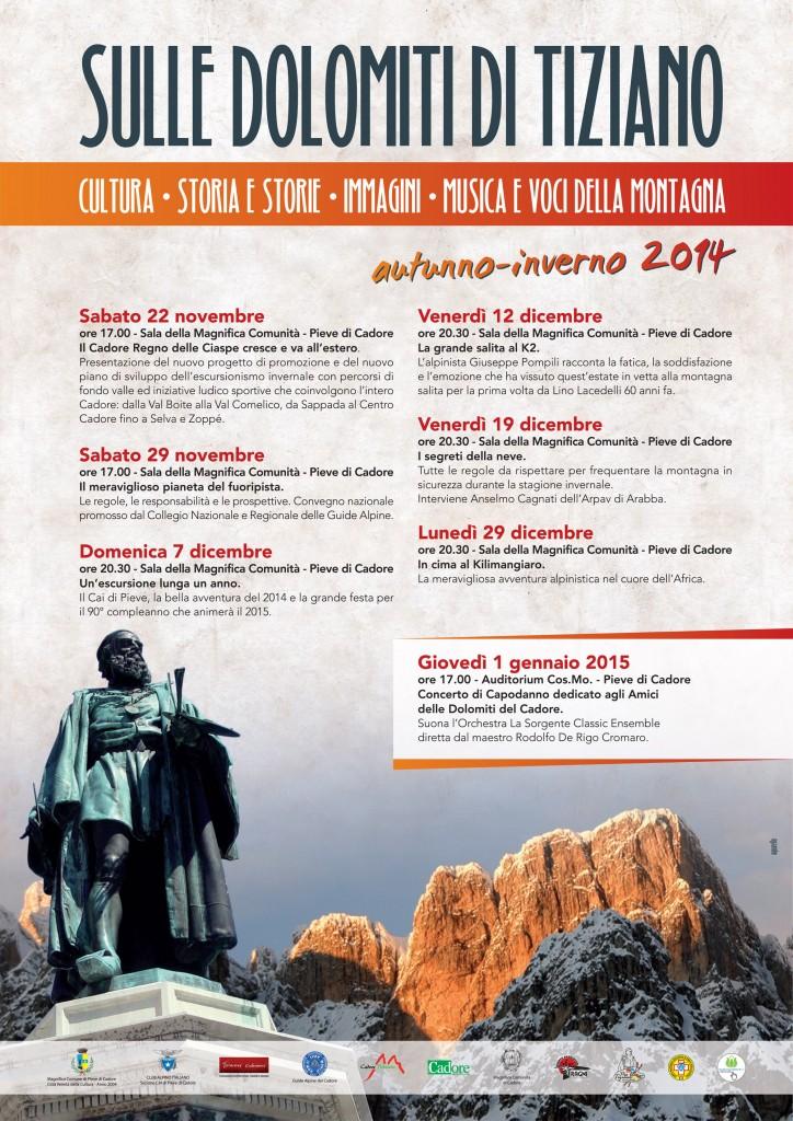 Sulle Dolomiti di Tiziano_calendario eventi