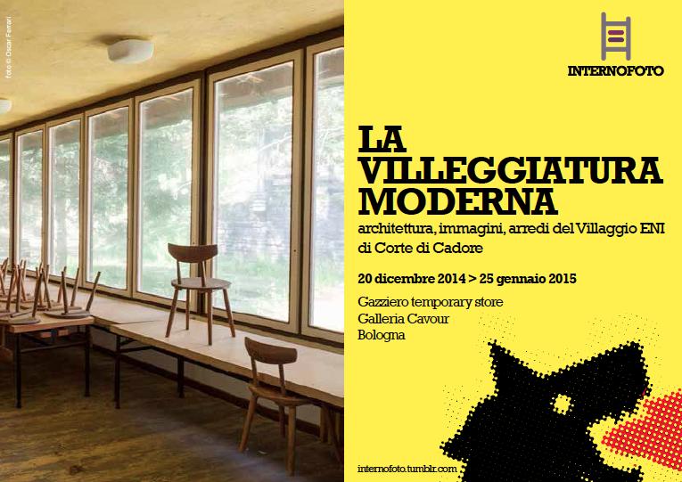 la villeggiatura moderna_front flyer