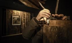 Mario Tomè al Museo Etnografico di Zoppè - Foto Giacomo De Donà