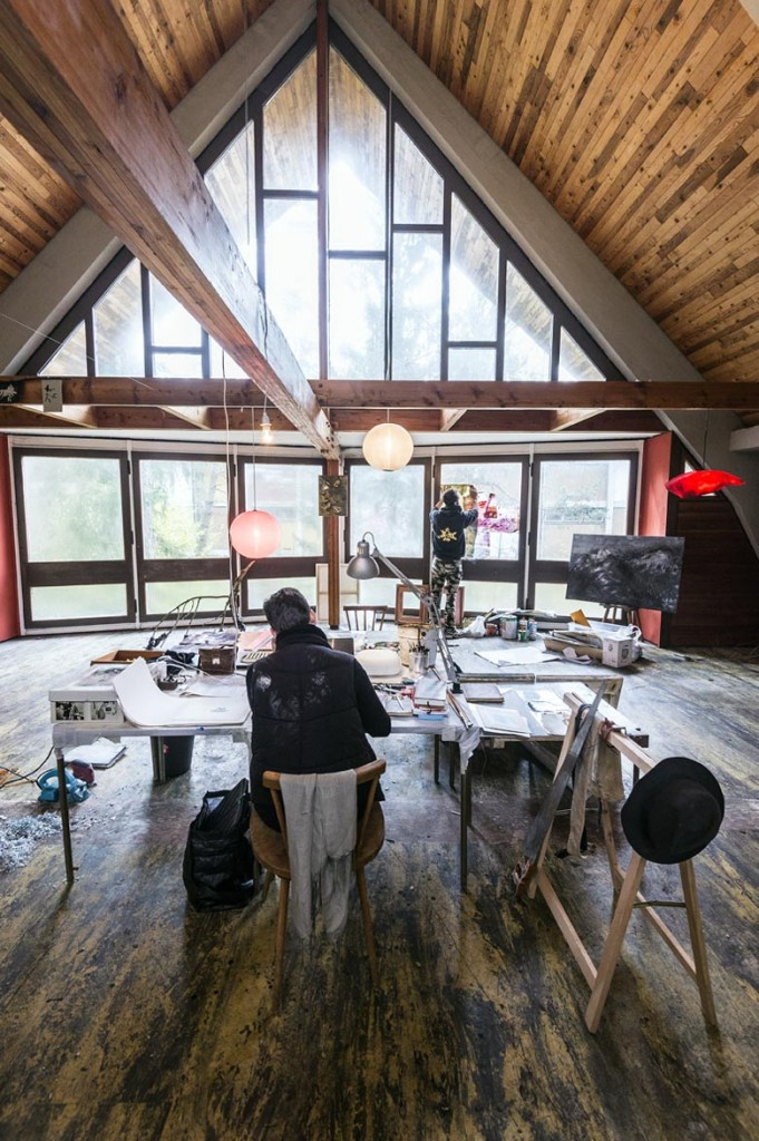 Capanna-studio per artisti alla Colonia - Foto G. De Donà
