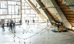 Crossover Aula Magna, catenaria Gellner