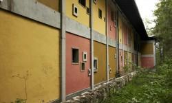 Esterni della Colonia, geometrie e colore