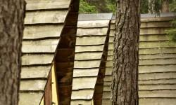 Camping dell Villaggio, capanne gialle