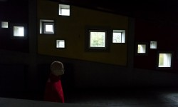 Le aperture dei corridoi della Colonia, luce