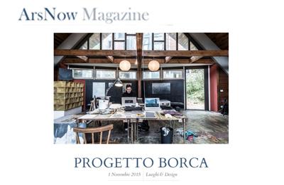 1 novembre 2015, ArsNow - Progetto Borca
