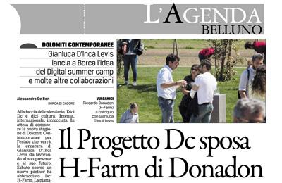 April 19 - Il Corriere delle Alpi