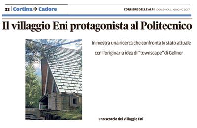 11 giugno 2017 - Corriere delle Alpi