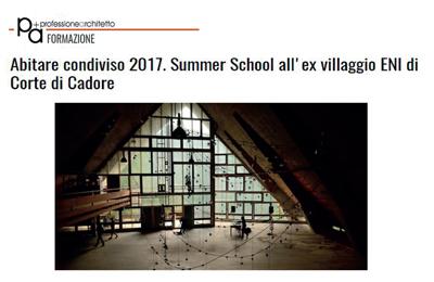 4 giugno 2017 - Professione Architetto