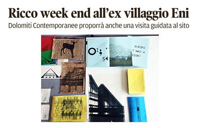 18 ottobre – Corriere delle Alpi