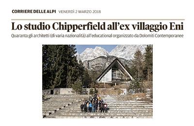 2 marzo – Il Corriere delle Alpi