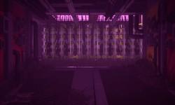 Aquaponics Indoor Farm - Incastonata negli interni del villaggio, l'aquaponics è un luogo per culture sperimentali di piante e pesci. La luce brilla dai nuovi pavimenti al neon che fanno riferimento alle iconiche finestre quadrate del villaggio